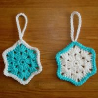 Easy Snowflake Christmas Decoration Patterns