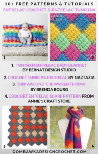 Entrelac Crochet Patterns and Tutorials Free Pattern Friday