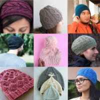 Featured at Wednesday Link Party 314 Free Knit Hat Patterns