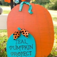 Featured at Wednesday Link Party 313 Teal Pumpkin Project