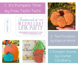 Wednesday Link Party 313 Features Pumpkins