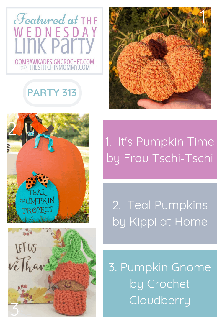 Wednesday Link Party 313 Features Pumpkins!