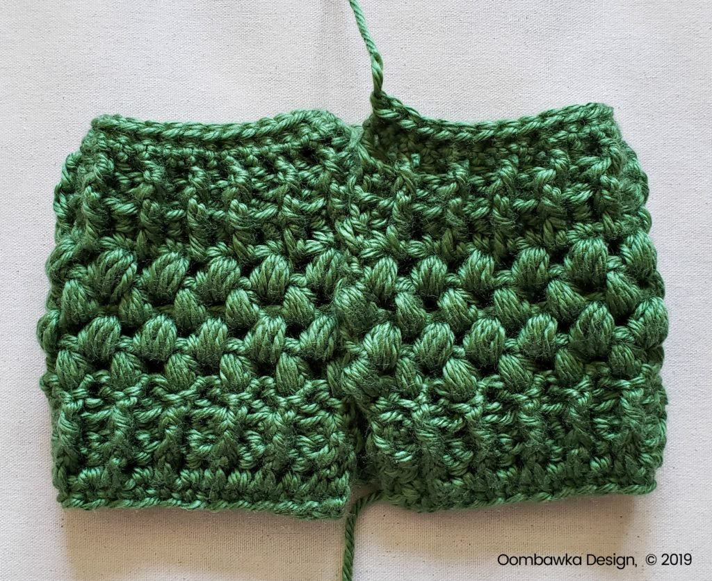 Whipstitch 2 Verna Puff Stitch Ear Warmer Pattern Oombawka Design Crochet