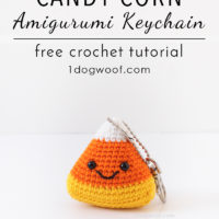 Candy Corn Key Chain Pattern