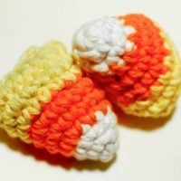 Crocheted Candy Corn Pattern