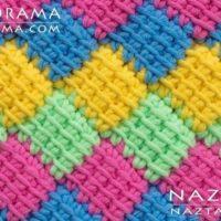 Crochet Tunisian Entrelac by Naztazia
