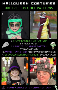 30 Free Halloween Crochet Costume Patterns Free Pattern Friday Oombawka Design