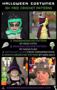 30 Free Halloween Crochet Costume Patterns Free Pattern Friday Oombawka Design