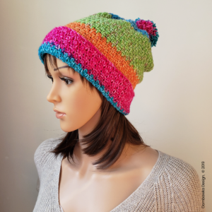 Amelia Crocheted Hat Pattern from Rhondda @oombawkadesigncrochet