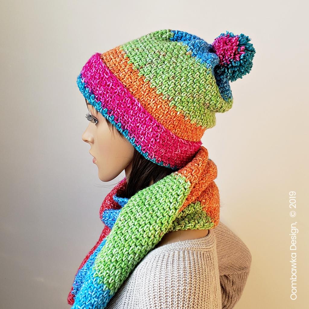 Amelia Crocheted Hat Pattern from Rhondda @oombawkadesigncrochet