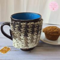 Autumn Comfort Mug Cozy Pattern