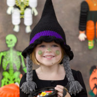 Bewitching Little Witch Crochet Costume Hat Pattern