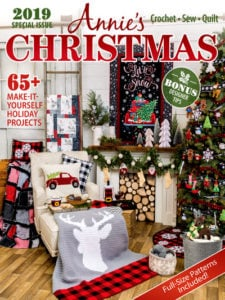 Cover - Annie's Christmas Special 2019 Review and Giveaway at Oombawka Design Crochet