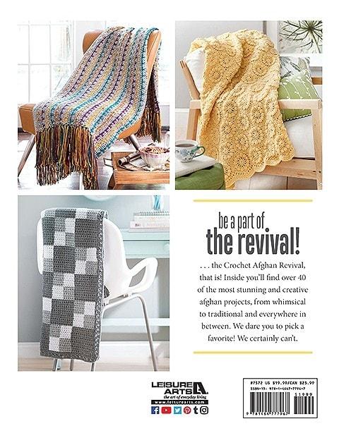 Crochet Afghan Revival Back Cover