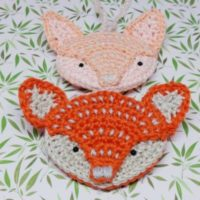 Featured at Wednesday Link Party 316 Crochet Fox