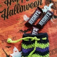 Witch Inspired Ripple Candy Pouch Pattern