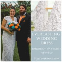 Featured at Wednesday Link Party 316 Everlasting Wedding Dress Crochet Pattern Review