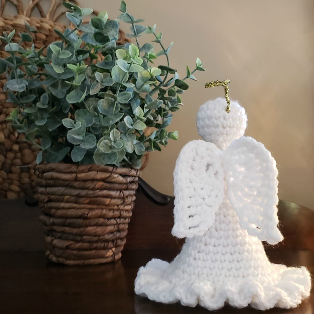 Grace An Angel Crochet Pattern by Rhondda Mol Oombawka Design Crochet Wings