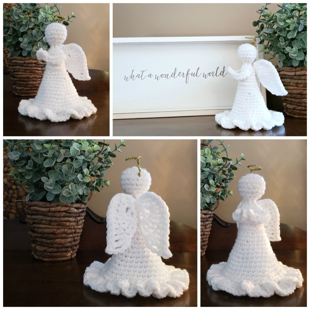 Grace Angel Crochet Pattern Oombawka Design 2019