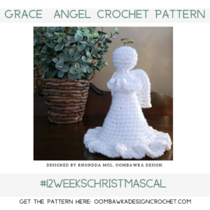 Grace Angel Crochet Pattern Oombawka Design Crochet 2019 fb