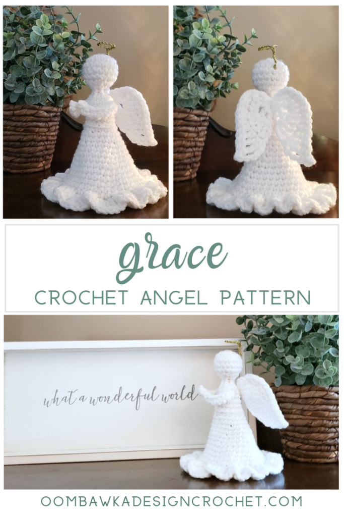 Grace Angel Crochet Pattern Oombawka Design Crochet 2019 pinterest