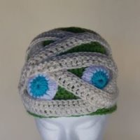 Mummy Crochet Hat Pattern