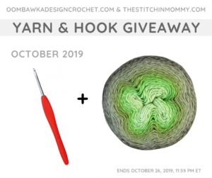 October Yarn and Hook Giveaway Oombawka Design Crochet FB