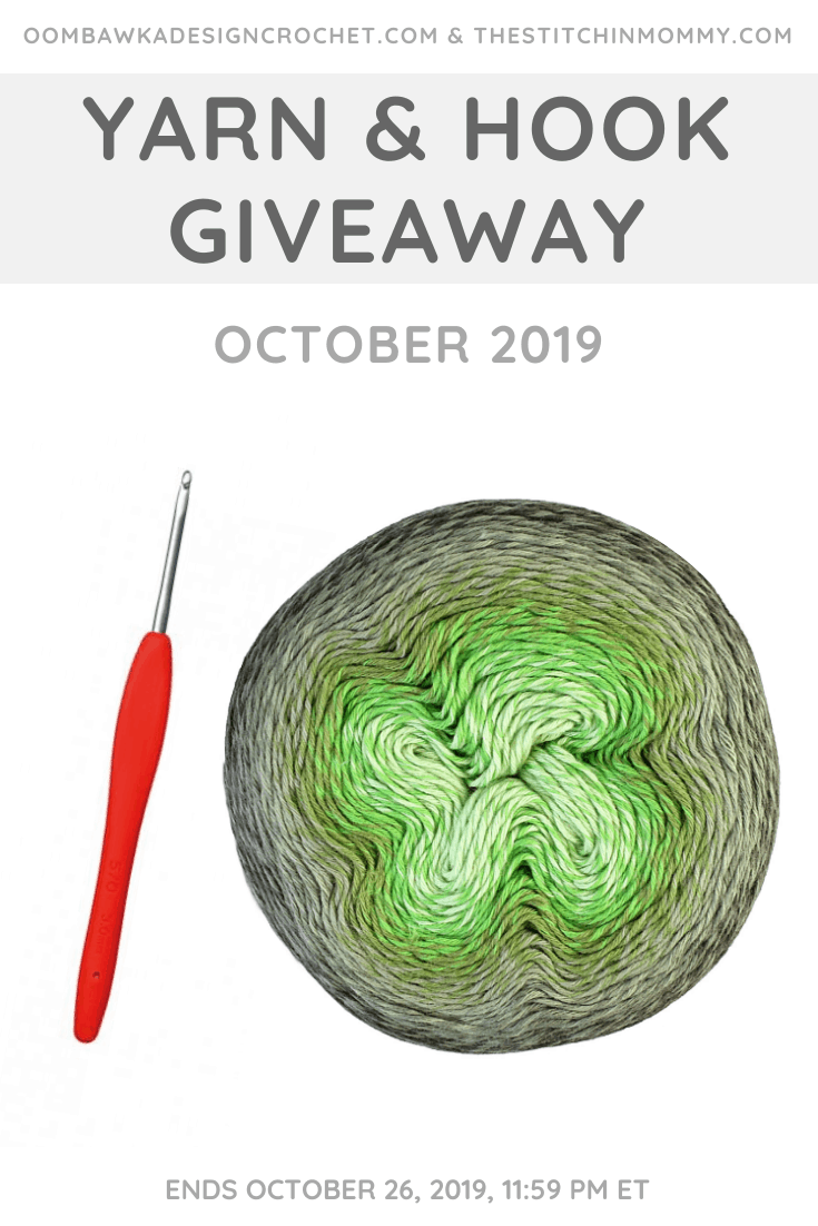 October Yarn and Hook Giveaway at Oombawka Design Crochet!