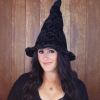 Velvet Witch Hat by Julie King