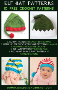 10 Free Crochet Elf Hat Patterns