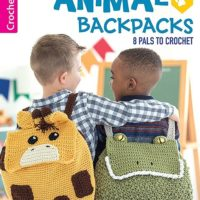 Animal Backpacks from Leisure Arts Book Review by Oombawka Design Crochet