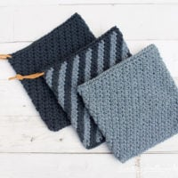 Blue Jean Rhapsody Hot Pad Pattern