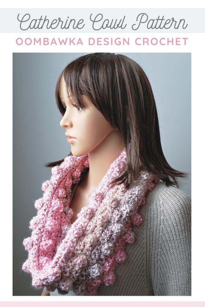 Catherine Cowl Crochet Pattern Oombawka Design