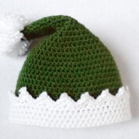 Little Helper Crochet Elf Hat Pattern