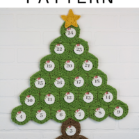 Crochet Advent Calendar Featured at Wednesday Link Party 222