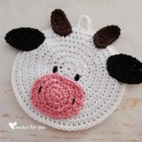Cow Potholder Pattern