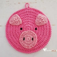 Pig Potholder Pattern