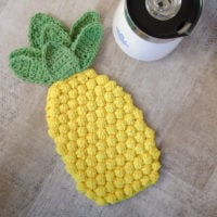 Pineapple Hot Pad Pattern