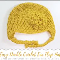 Pretty Crochet Flower Pattern Oombawka Design Crochet