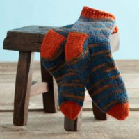 Men's Crochet Socks Pattern
