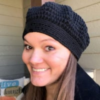 Lazy Day Beret Crochet Pattern