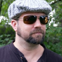 Men's Cabled Golf Cap Pattern