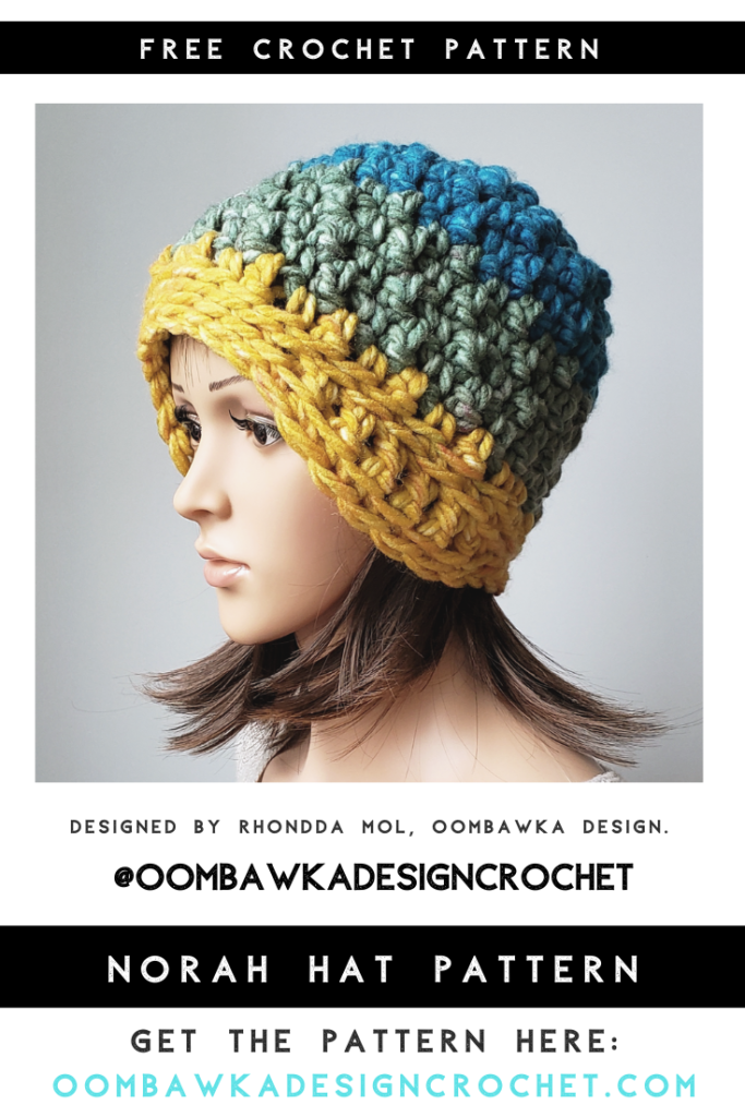 Norah Hat Pattern Oombawka Design Crochet