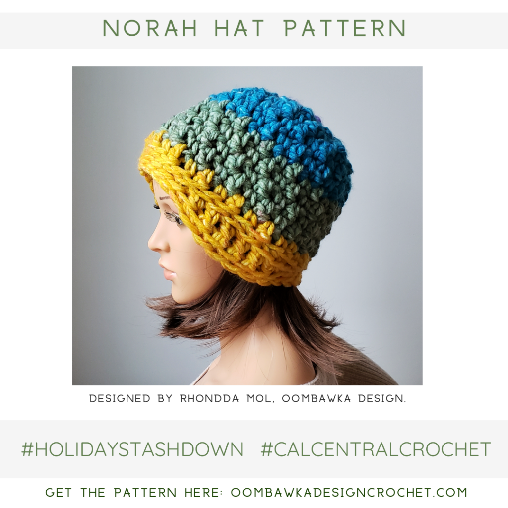Norah Hat Pattern from Oombawka Design Crochet