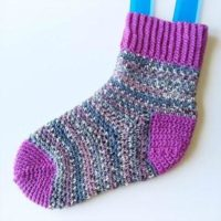 Perfect Fit Crochet Socks Pattern