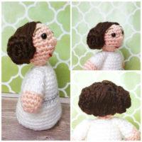Amigurumi Princess Leia Crochet Pattern