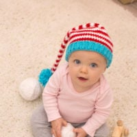 Red Heart Baby Elf Hat Pattern