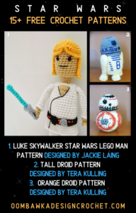 Star Wars Free Crochet Pattern Roundup at Oombawka Design