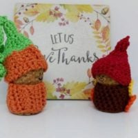 Thanksgiving Gnome Crochet Pattern Featured at Wednesday Link Party 322