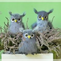 Wednesday Link Party 320 Featured Owl Friends by Lalka Crochetka